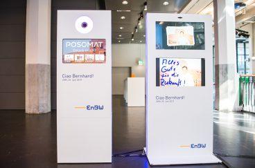 design fotobox infostele stele mieten business karlsruhe enbw